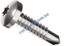 Din7504 N Bi-metal+TORX Саморез с полукруглой головокой и сверлом