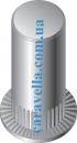 Клепальная гайка рифленная круглая с цилиндрическим буртиком закрытая