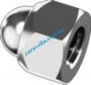Din 986 Гайка шестигранная колпачковая с неметаллическим вкладышем