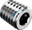 Din906 Пробки резьбовые конические с шестигранным углублением под ключ