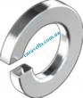 Din127B Шайба пружинная (гровер). форма В - притупленные кромки
