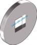 Din440V Шайба увеличенная форма V - отверстие квадратное