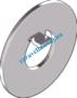 Din462 Шайба стопорная с носиком, для гаек DIN 1804