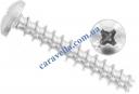 Din9160 Шуруп с полукруглой головкой для термопластика