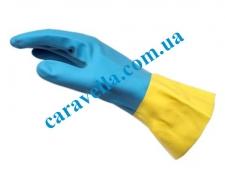Химически стойкие перчатки неопрен / латекс -SZ9, размер 9