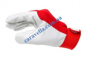 Кожанные перчатки, размер 10