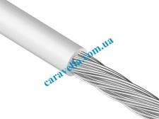 Трос в оболочке PVC средней жесткости свивка 7X7