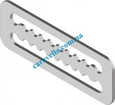 Фиксатор стропы с зубцаМи М8766 М60х23.5 A4