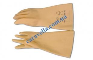 Перчатки диэлектрические белые размер  9