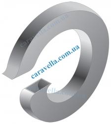 Шайба пружинная (гровер). Форма А - острые кромки