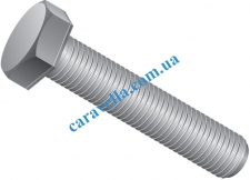 Болт DIN961 М20х1,5х70 кл.10.9