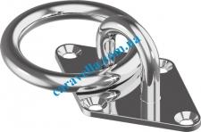 Обушок с кольцом М8265 тип С 80х50 А4