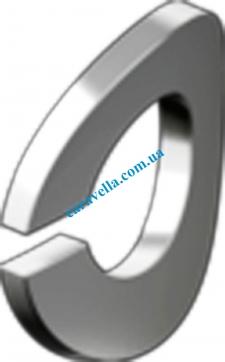Шайба пружинная (гровер). форма В - волнистая