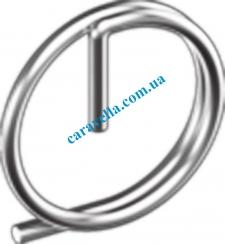 Шплинт с кольцоМ DIN11023 М7 цинк