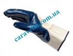 Перчатки с нитриловым покрытием и манжетой