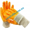 Перчатки из хлопковой ткани с нитриловым покрытием, размер 10