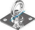 Кольцо-вертлюг на квадратной пластине